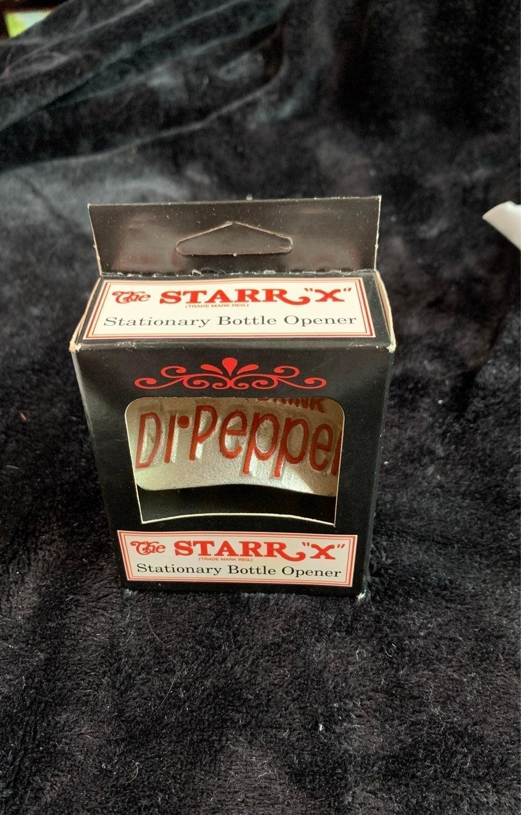 Dr. Pepper stationary bottle opener