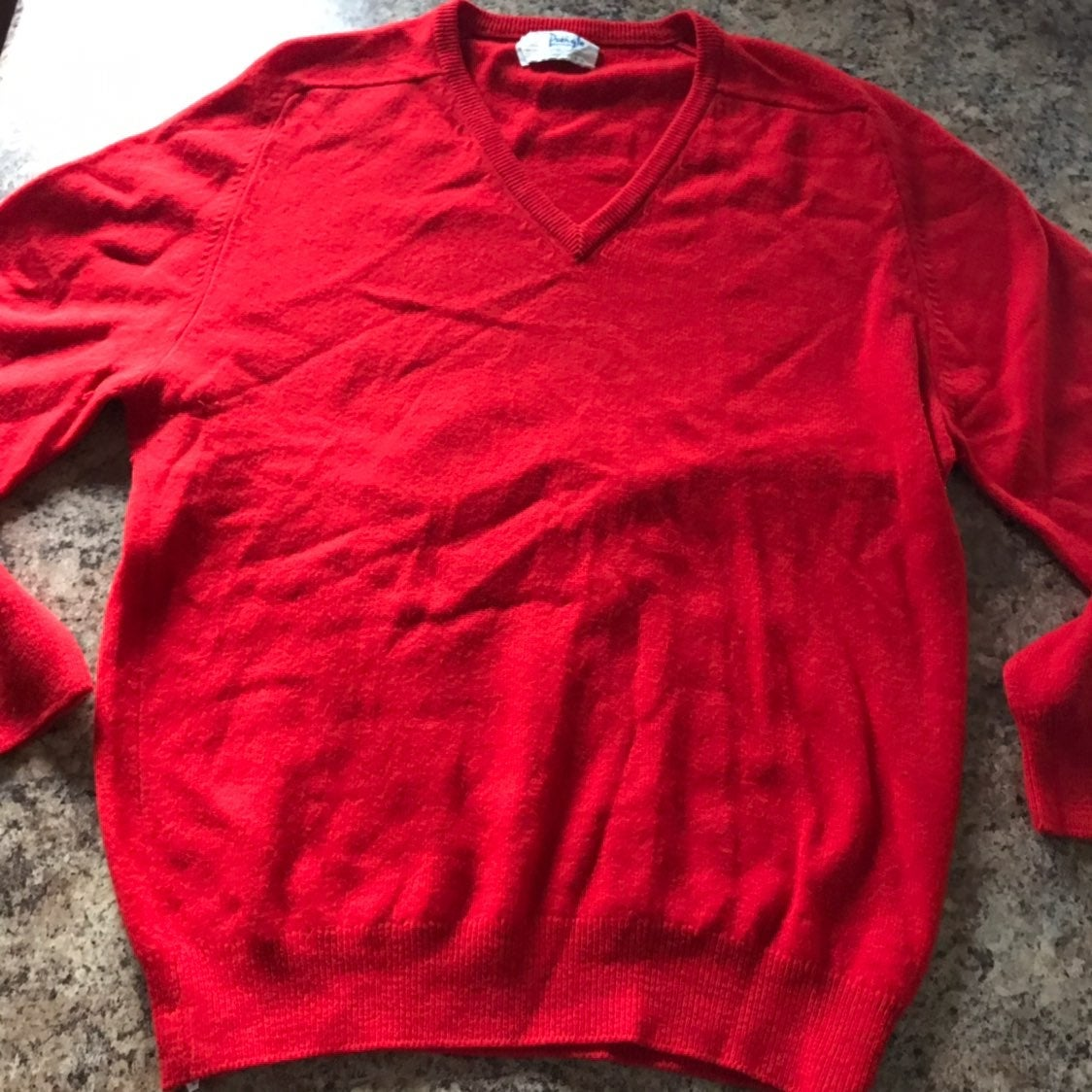 Pringle Scotland Lambswool Red Sweater