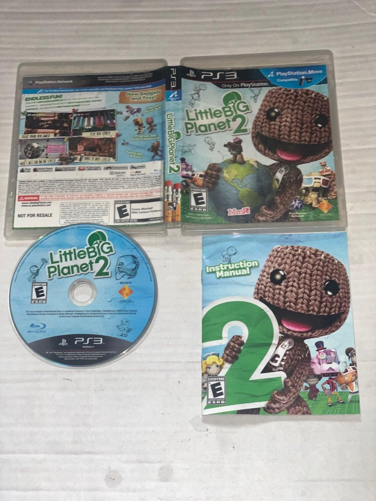 Playstation PS3 LittleBigPlanet 2