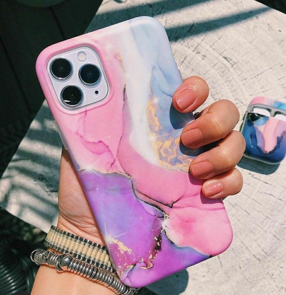 iPhone 11 Pro Max case Marble Matte