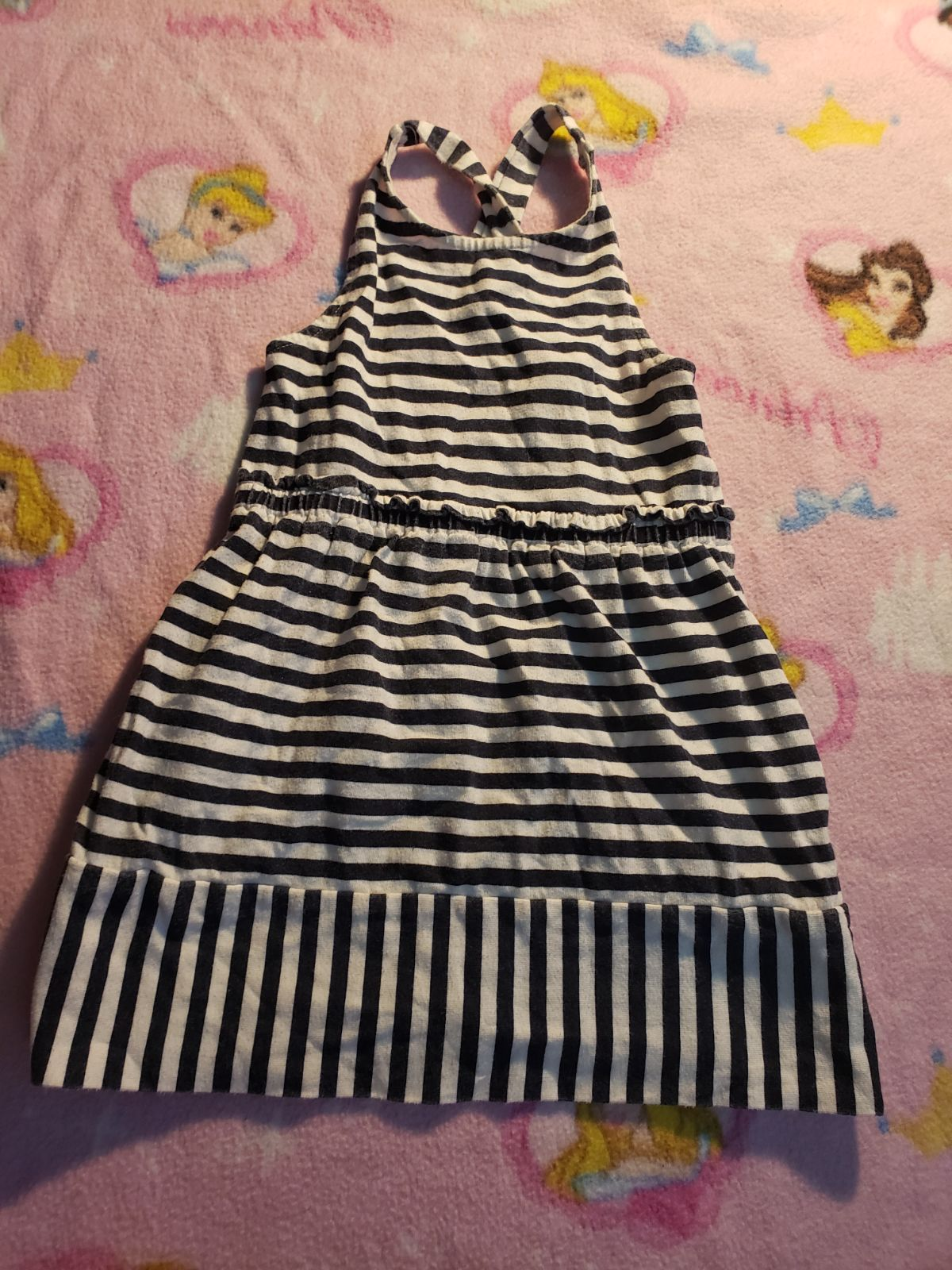 Girls summer dress with pockets 3-4t