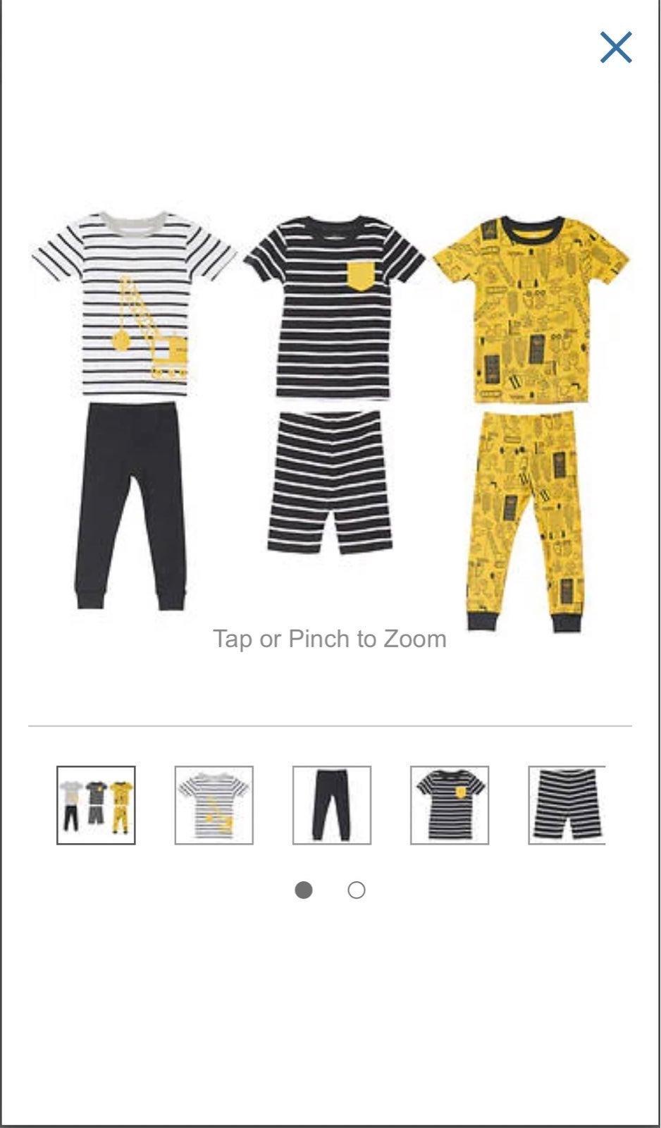 Carter's 6 piece pajama set