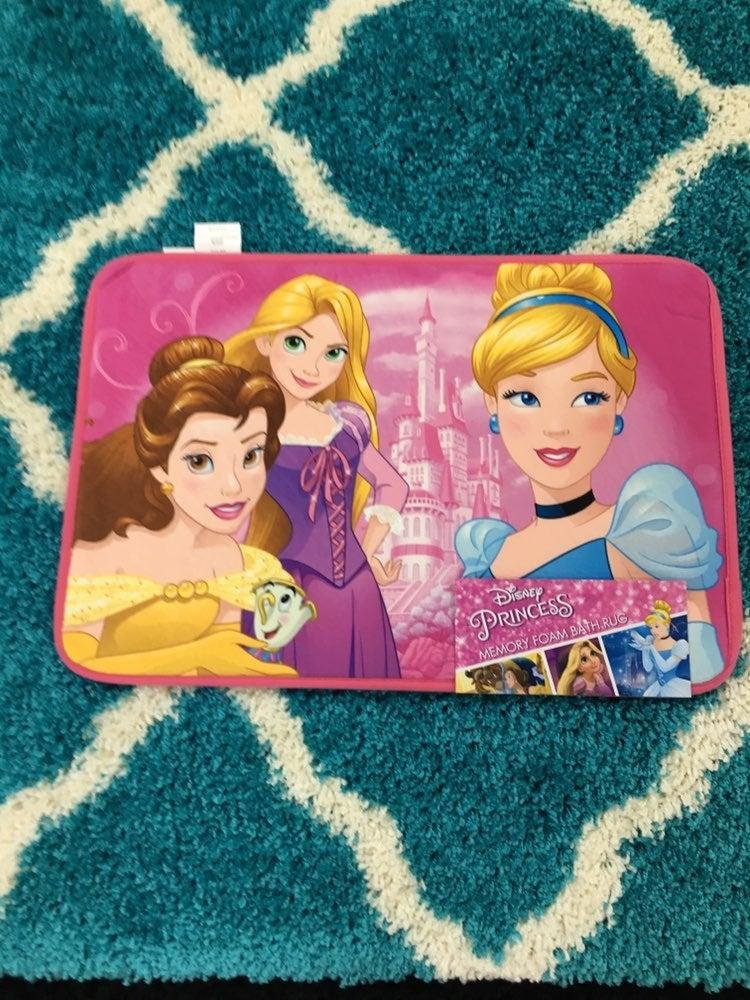 Disney Princess Bathroom Mat