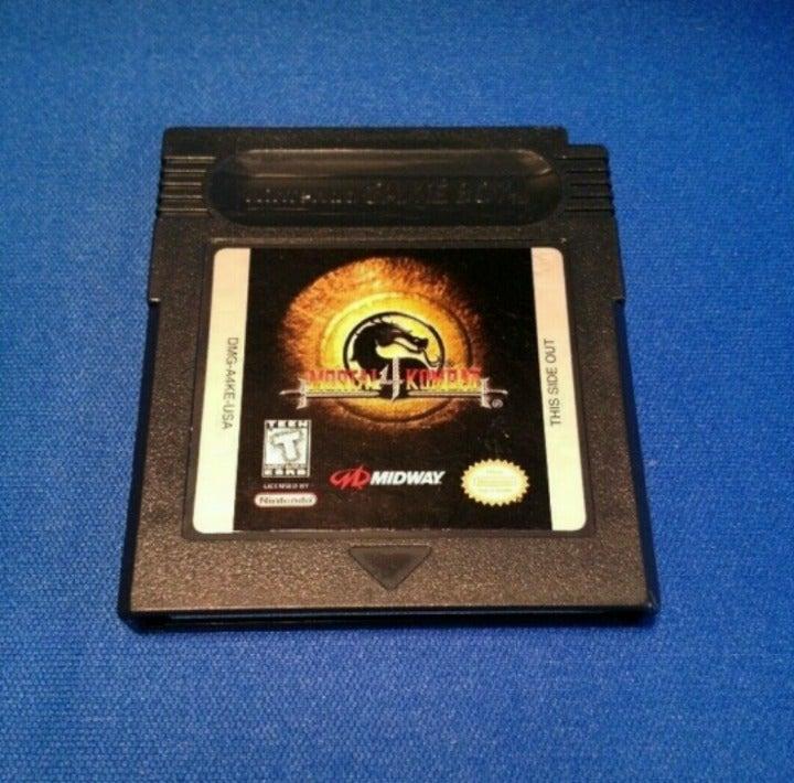 Mortal Kombat 4 Gameboy Color