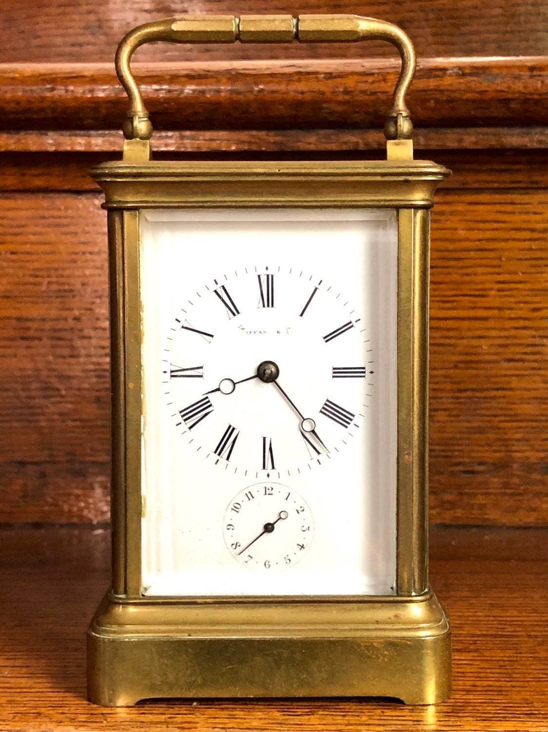 19th c Tiffany & Co Carriage Clock
