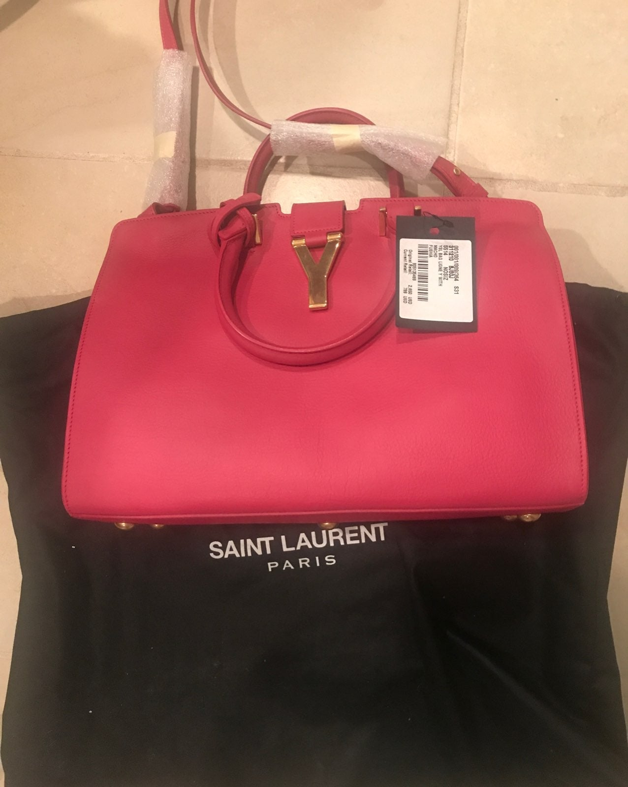 yves saint laurent Pink Handbag