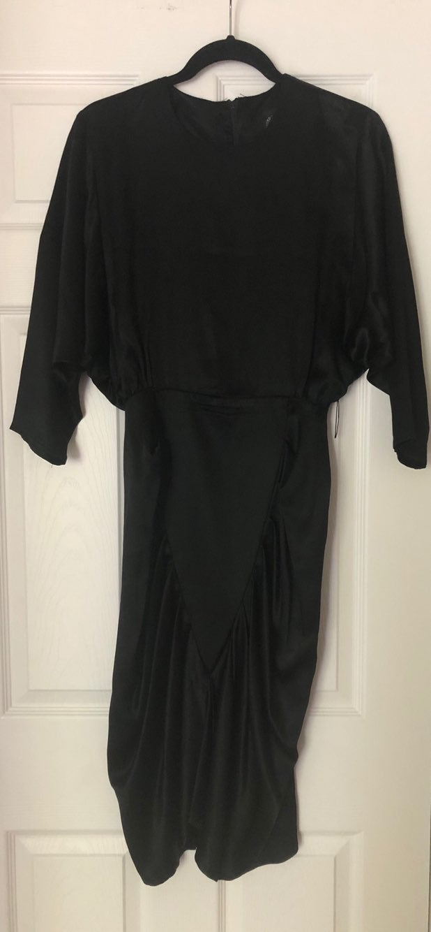 Vintage Black Dress Size 7/8