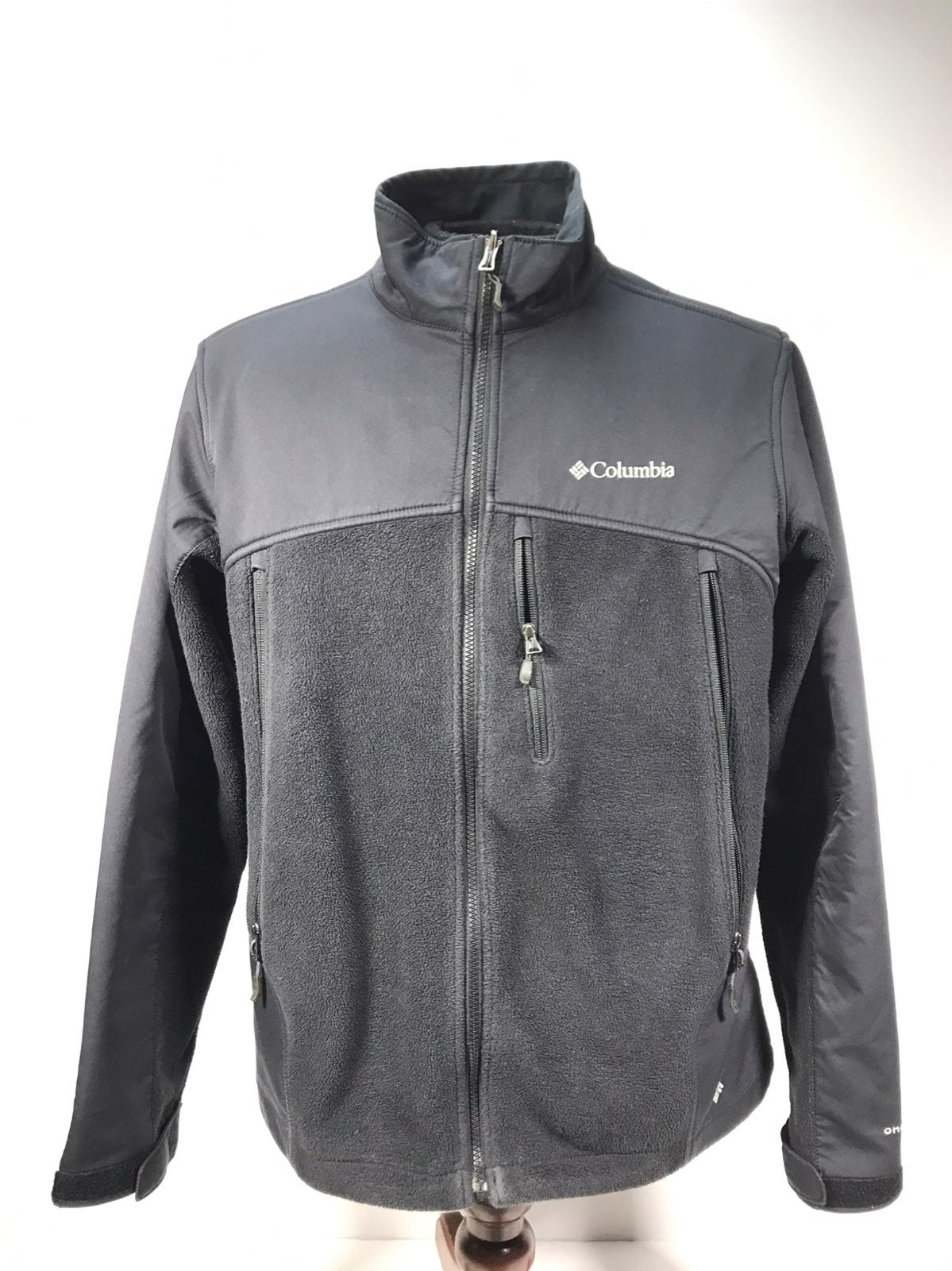 Columbia omni-heat fleece jacket mens LG