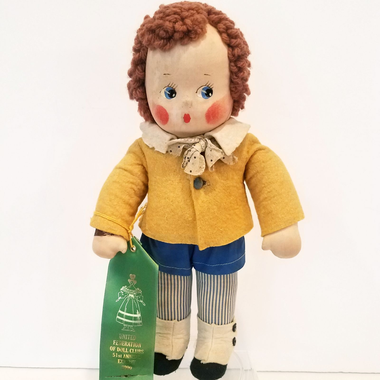 1939 Cloth Madame Alexander Bobby Q Doll