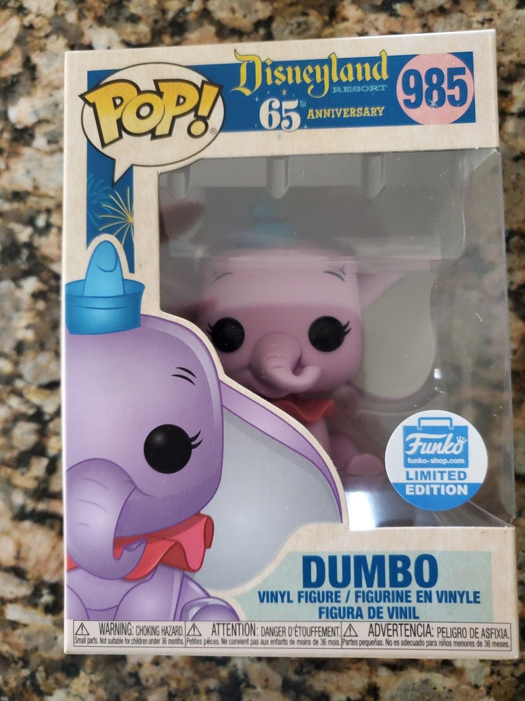 65th anniversary Purple Dumbo Pop