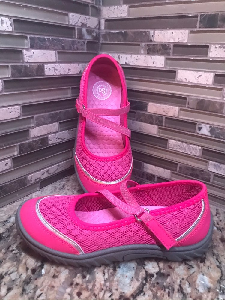 Girls' Size 1 Mary Jane Sport Shoes