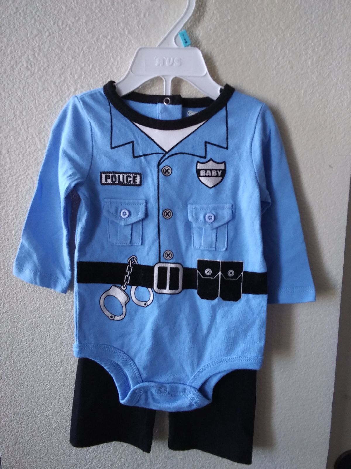Baby police costume