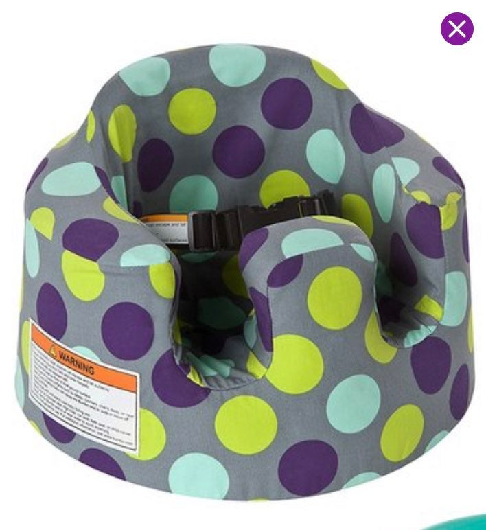 NEW bumbo seat cover boy girl dots