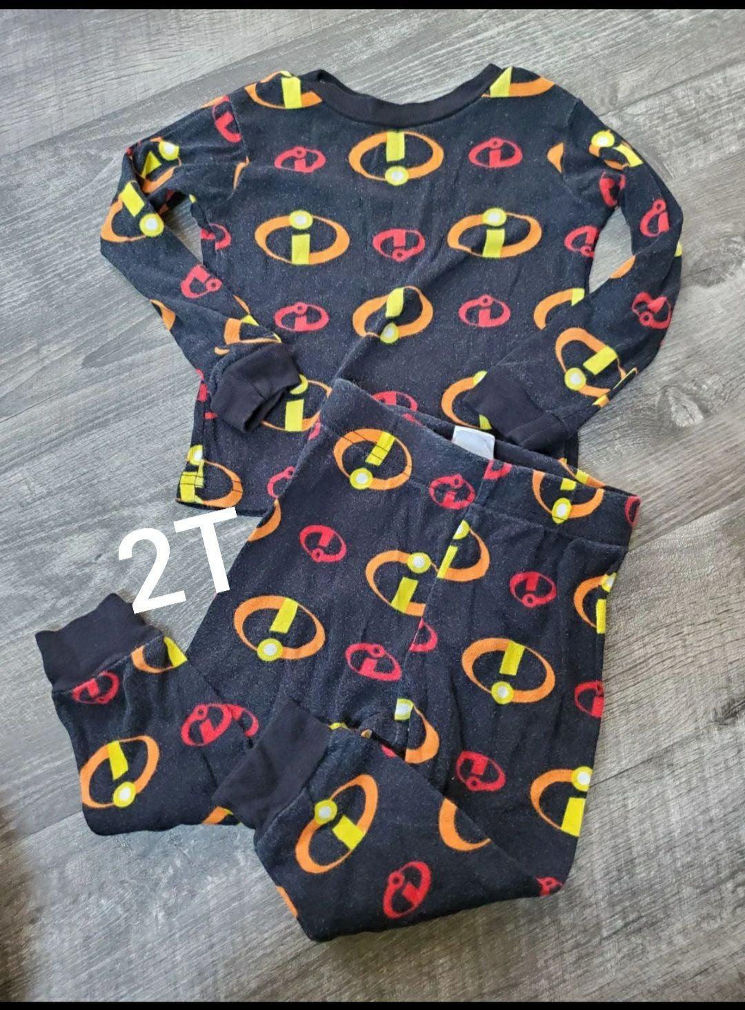 2T pajama incredables
