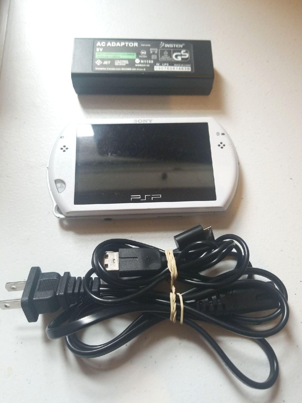 Rare White Sony PSP Go Bundle