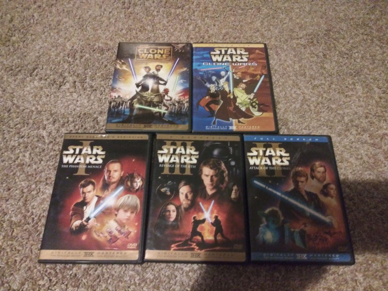 Star Wars DVDs