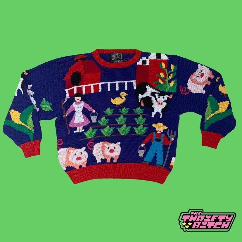 1989 Old Macdonald Sweater