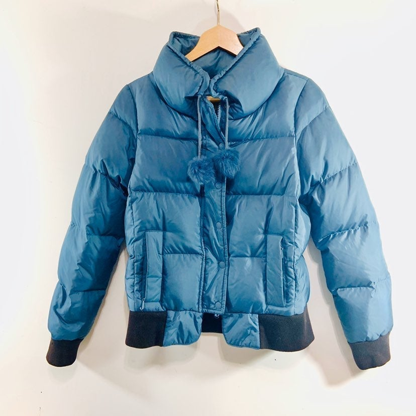 Juicy couture puffer bomber coat jacket