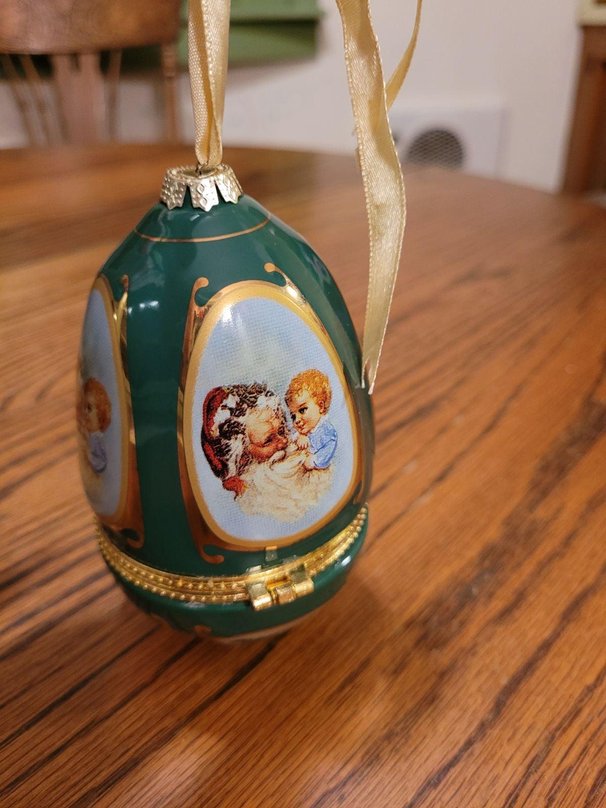 Porcelain Musical Ornament