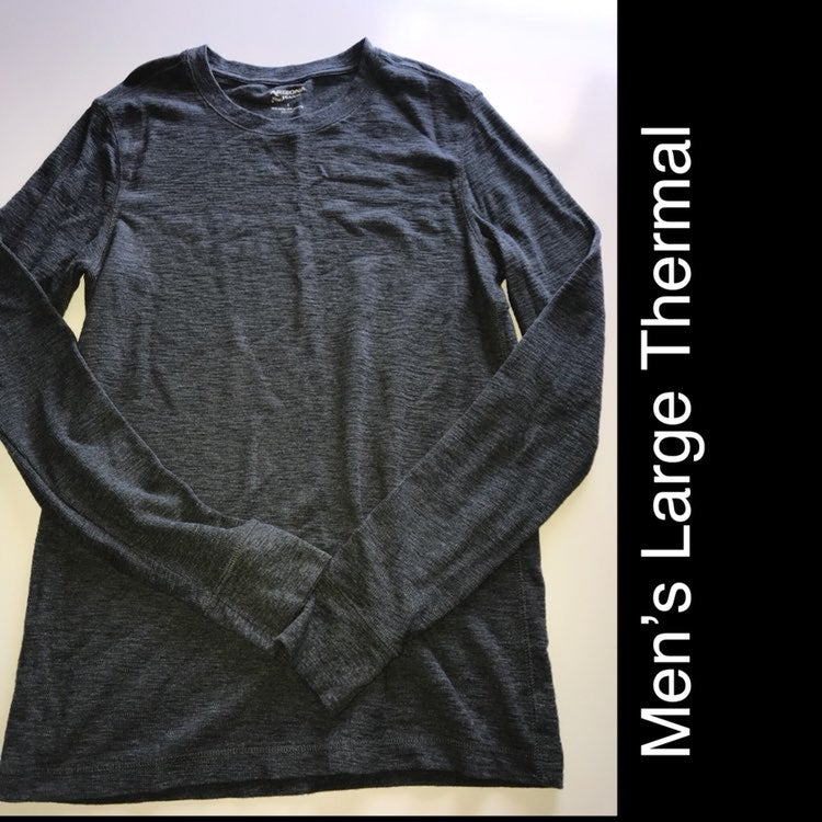 Long Sleeve Thermal For Men's L
