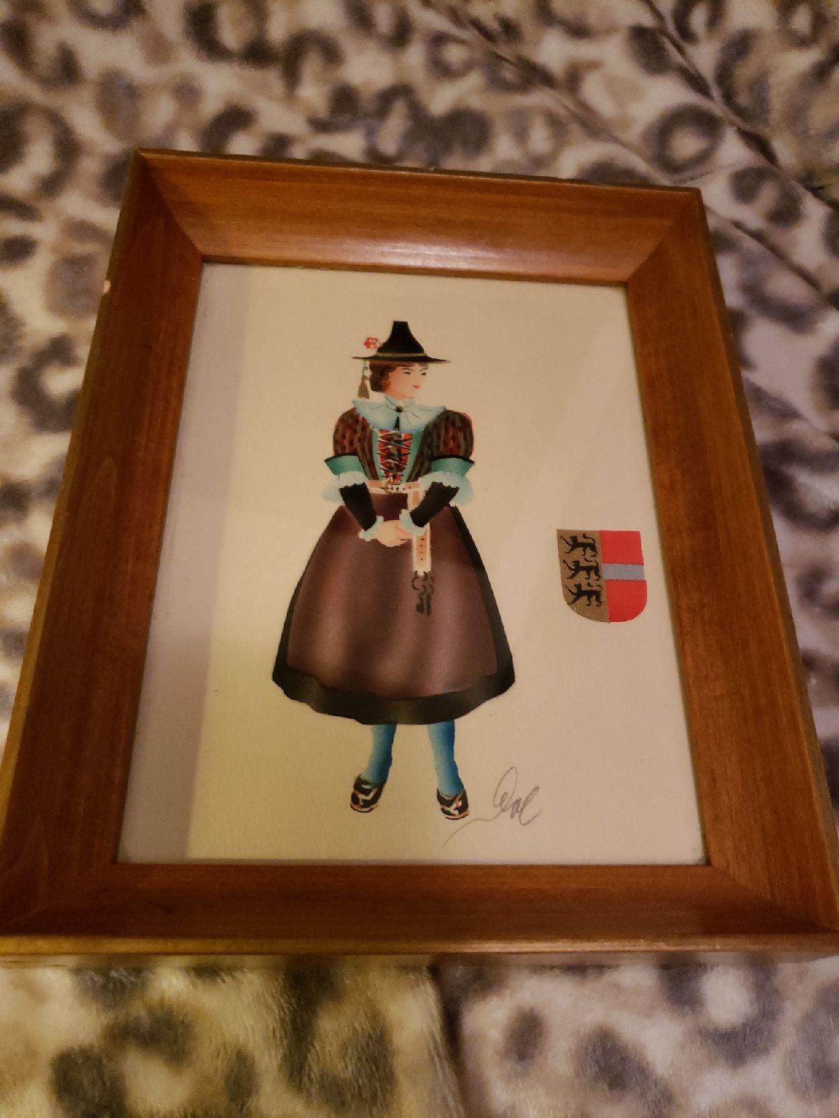 French Provencial Women Prints (2)