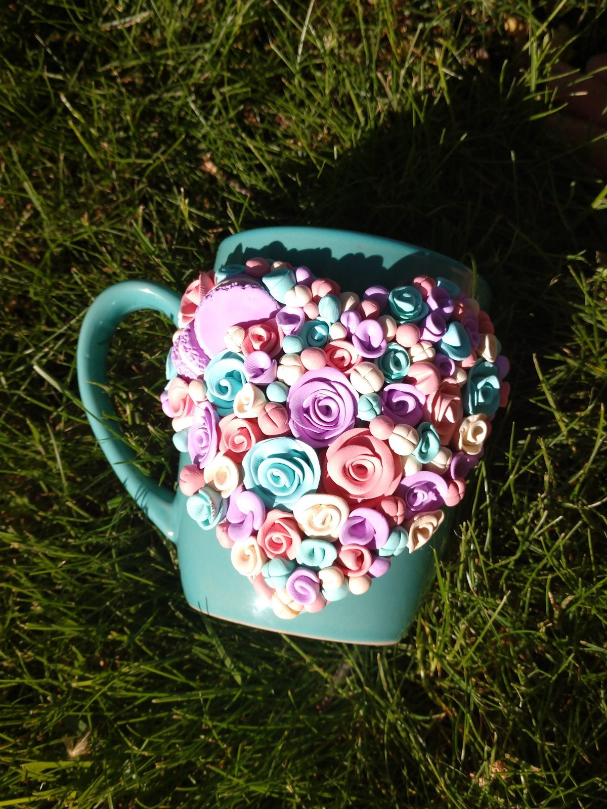 Cup Decorating Polymer Clay
