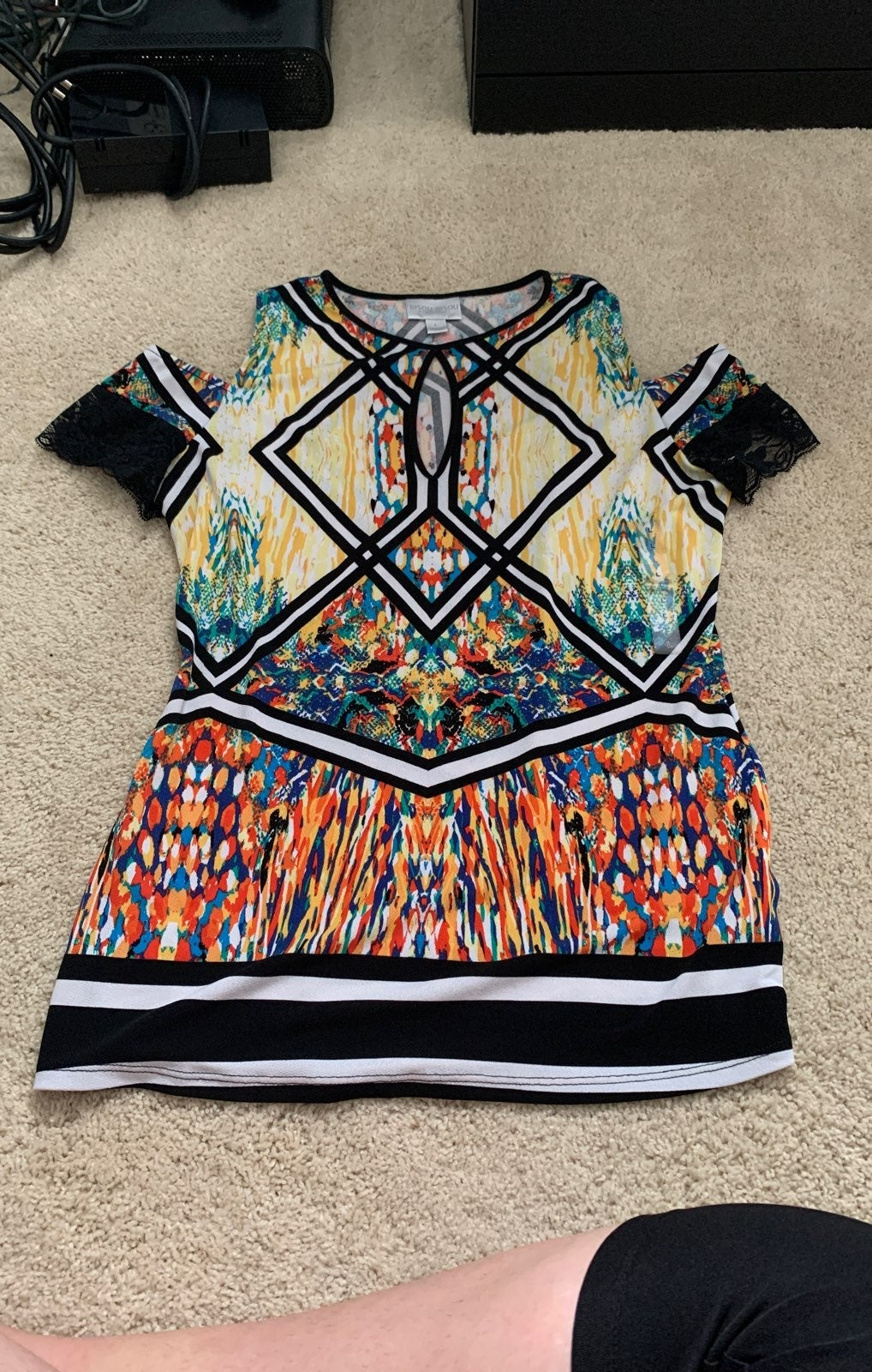 Bisou bisou blouse top