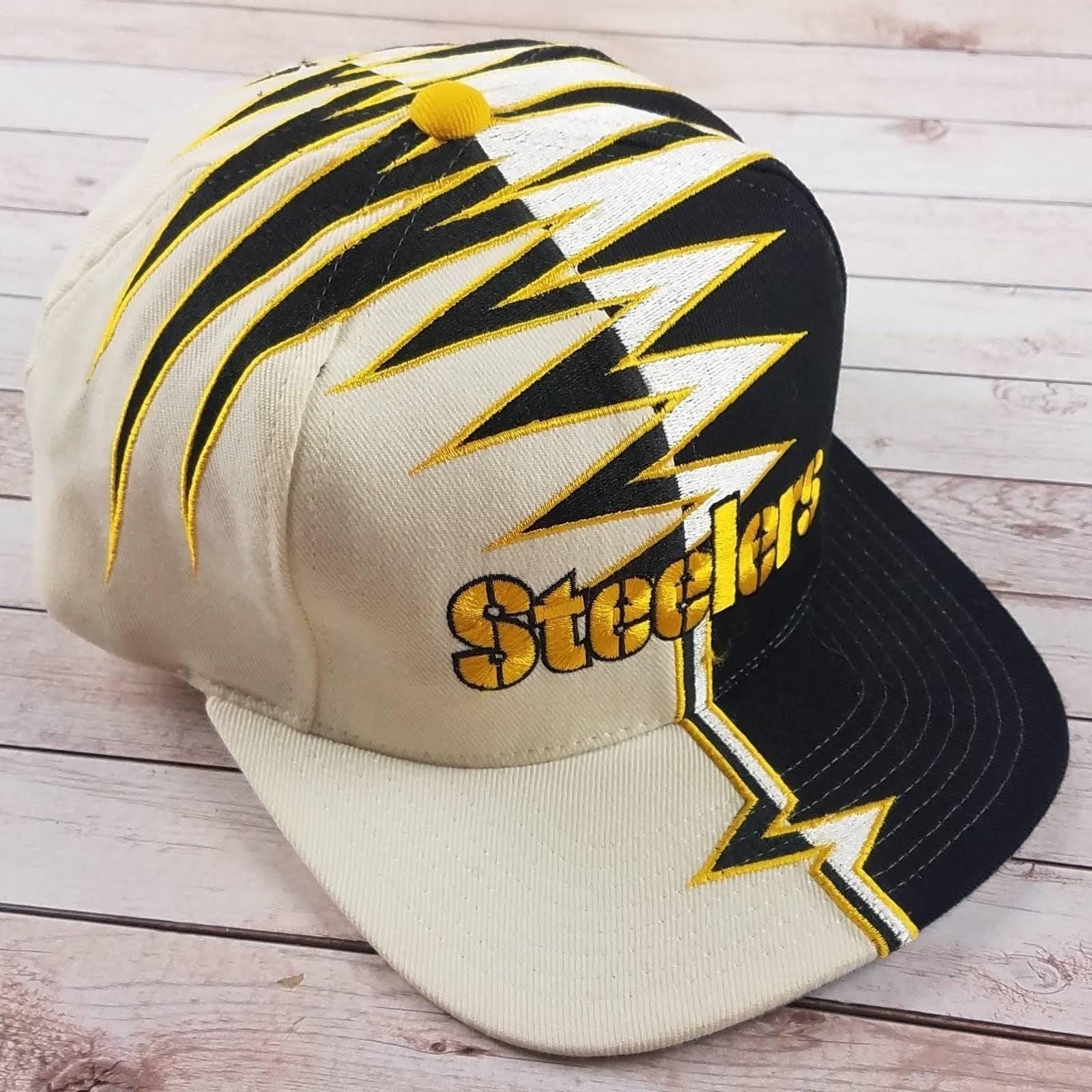 VTG 90s Steelers Starter Shockwave Hat