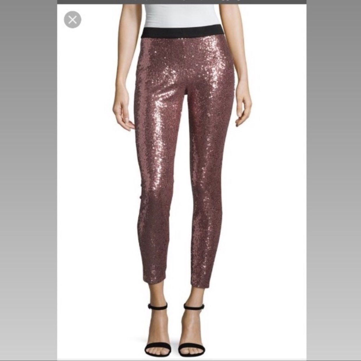 Nwt Project Runway Pink Sequin Pants