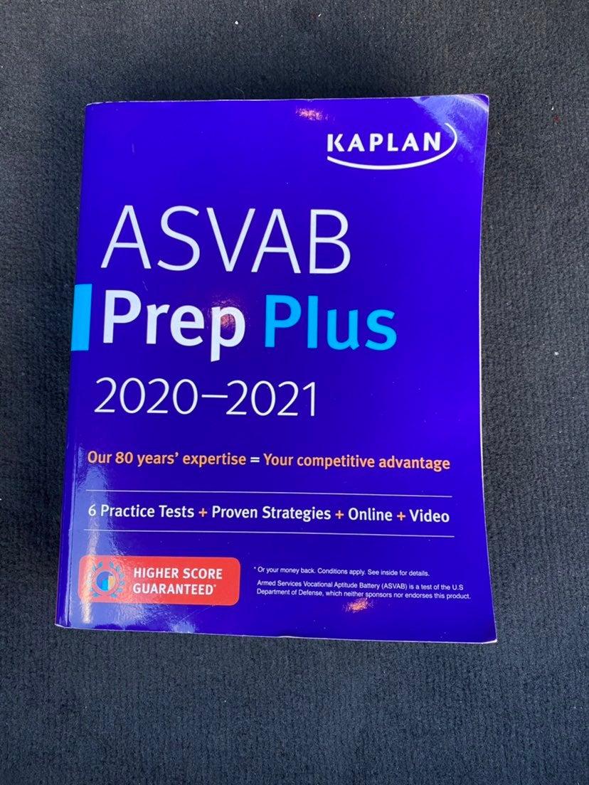 ASVAB practice book 2020-21