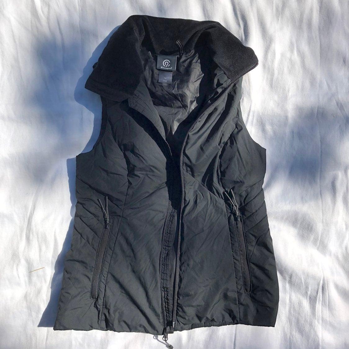 Champion Puffer Vest - Black