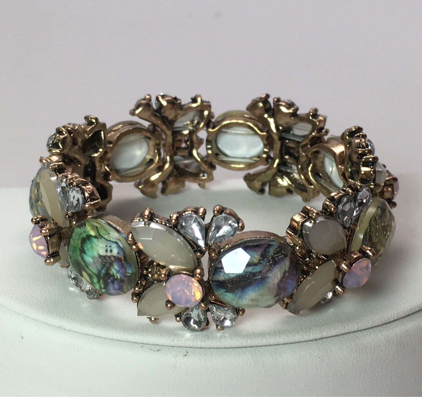 Charming Abalone Fashion Elastic Bracele