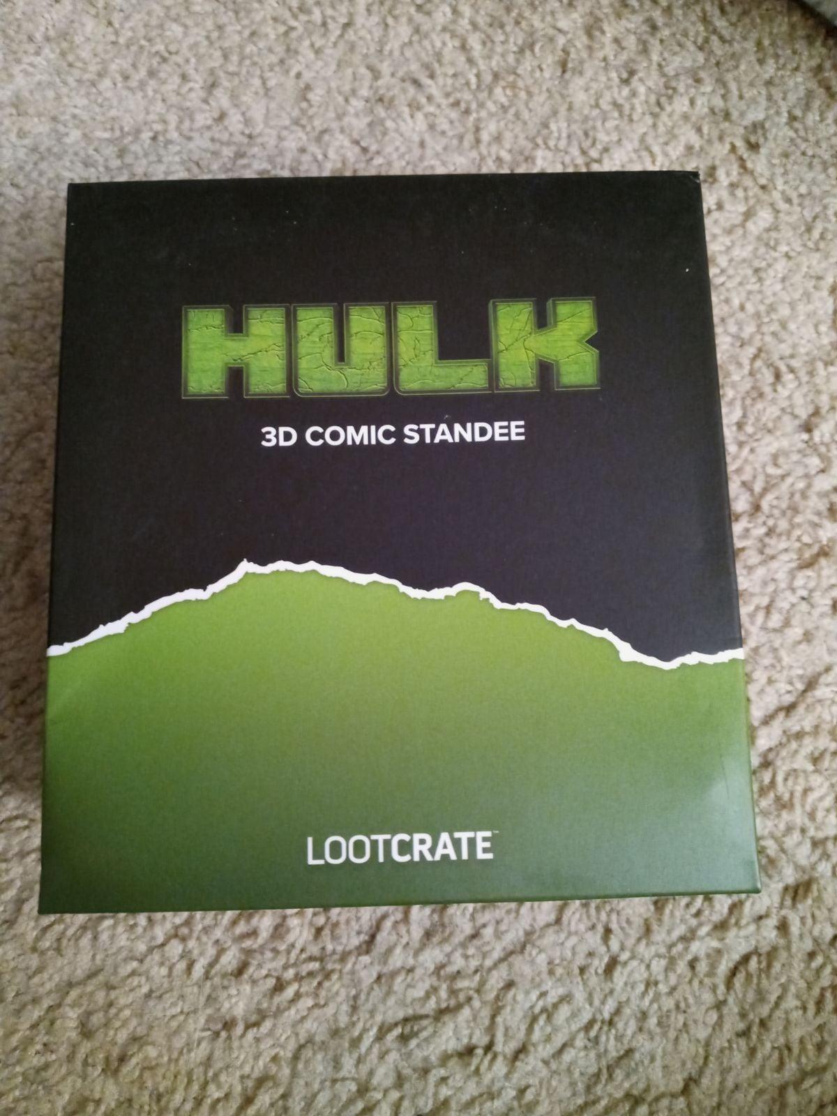 The Incredible Hulk 3D Comic Standee