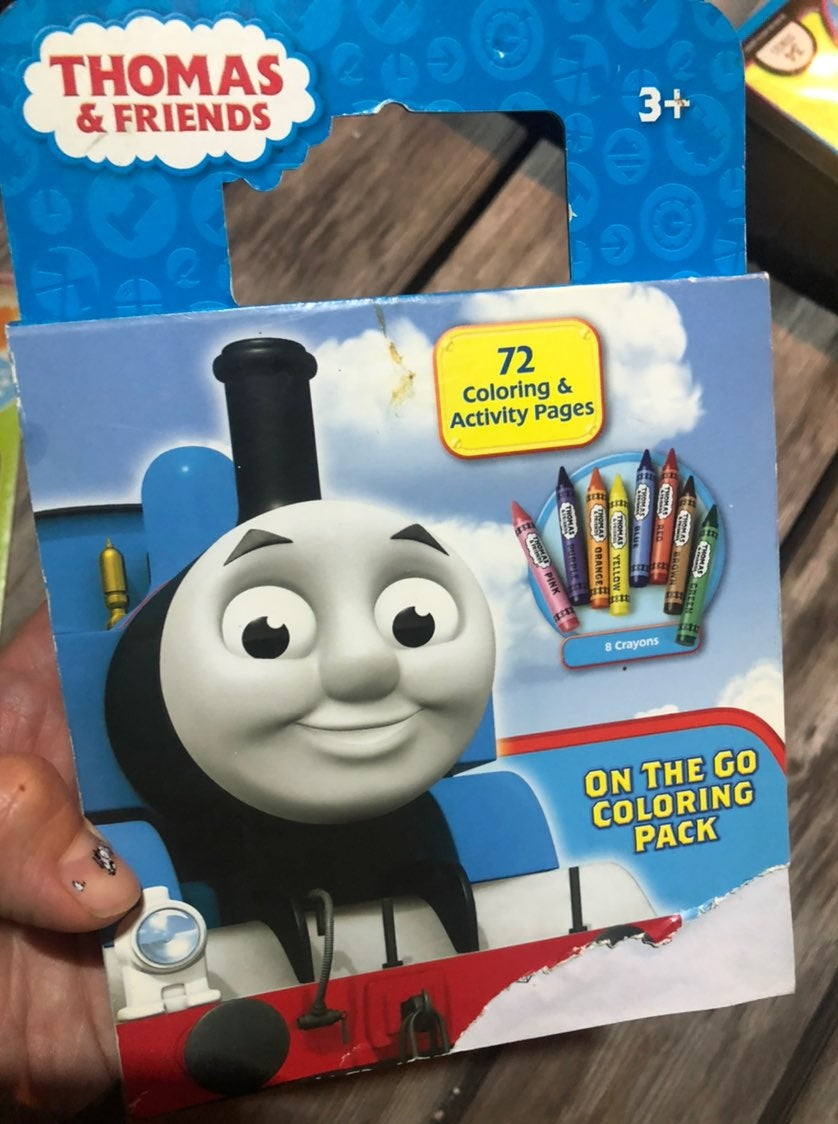 Thomas on the go acitvity book
