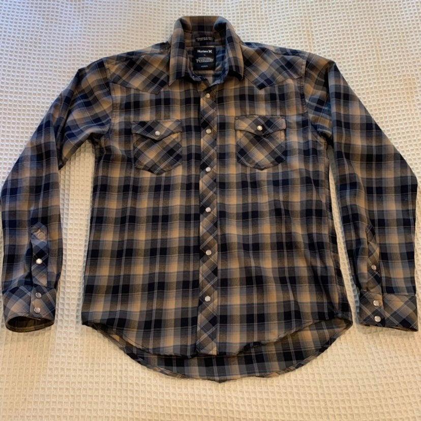 Hurley X Pendleton wool plaid shirt