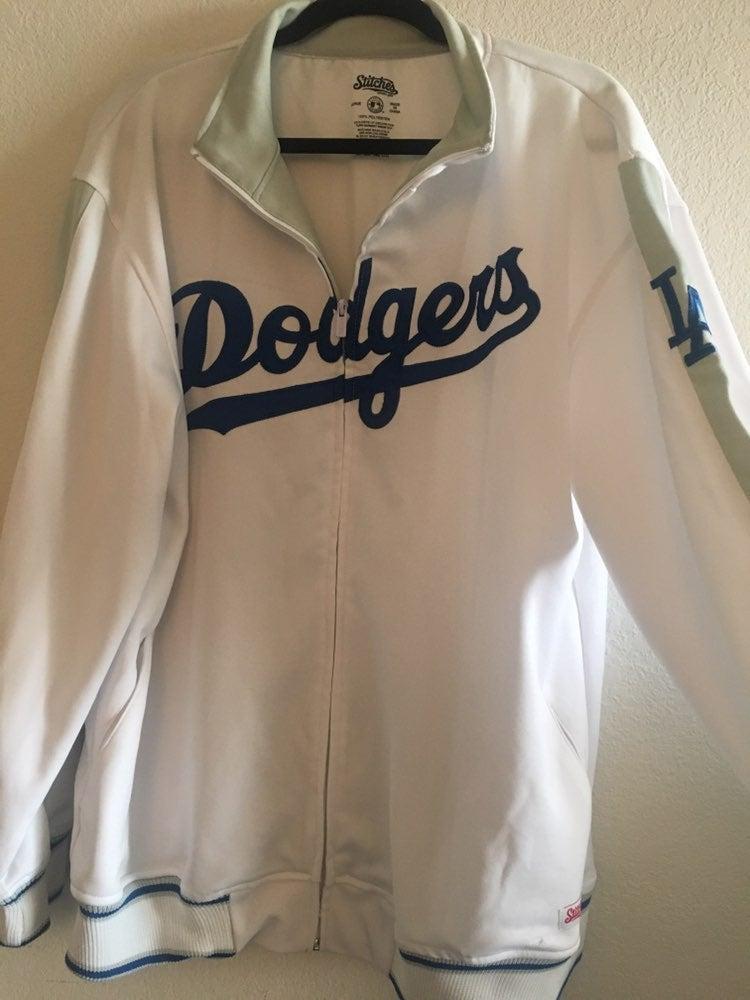 Stitches Dodgers Zip Up Jacket