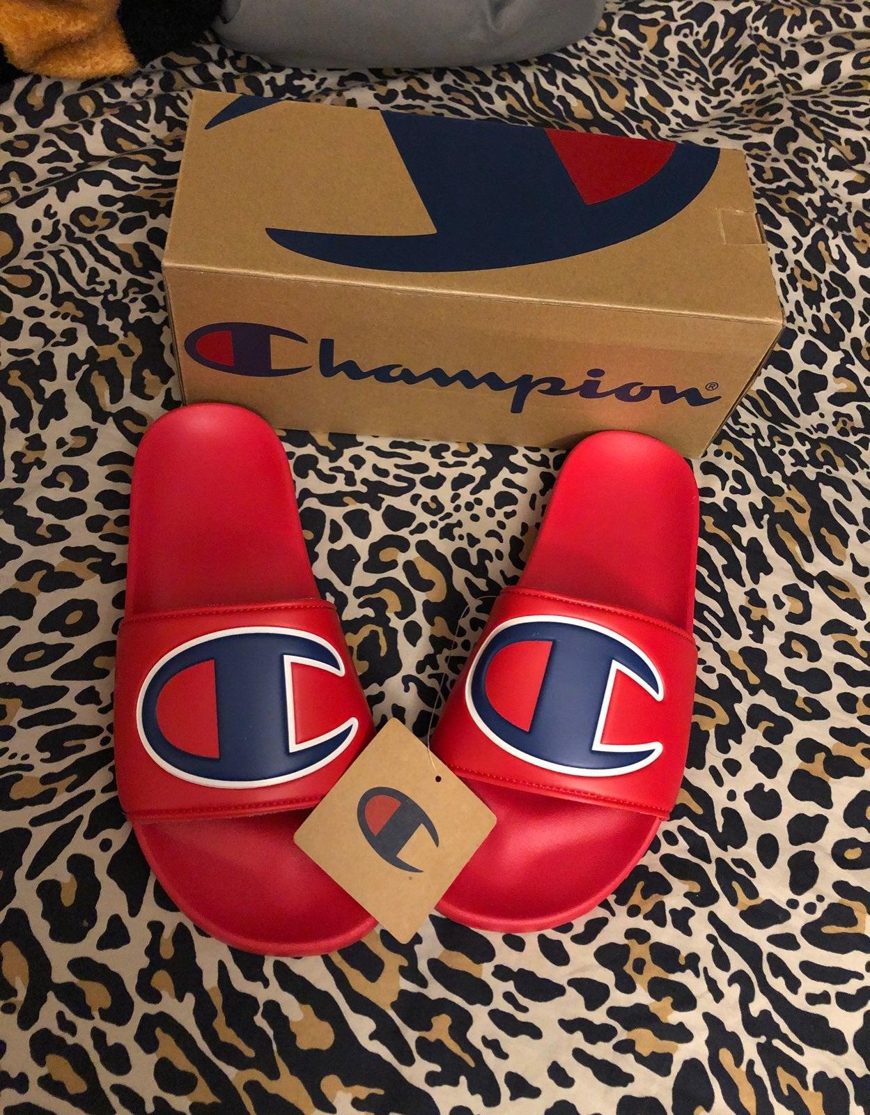 Champion Womens Sandals Size 8 NEW