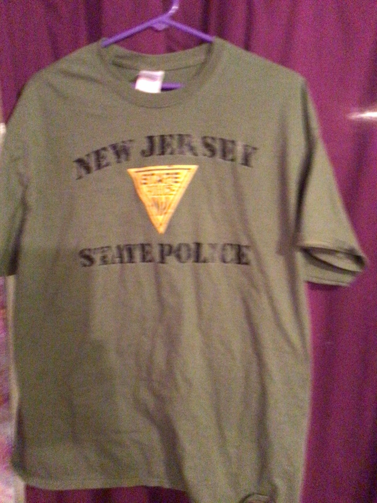 New jersey state police tee shirt