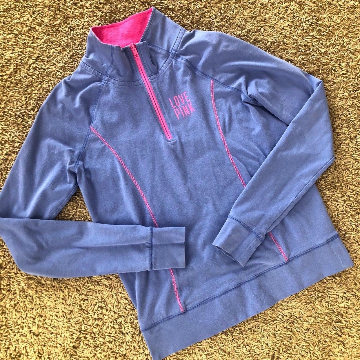 victoria secret pink pullover, small
