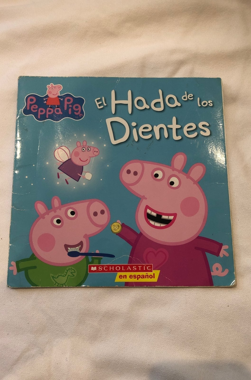 Peppa Pig Spanish Paperback Book