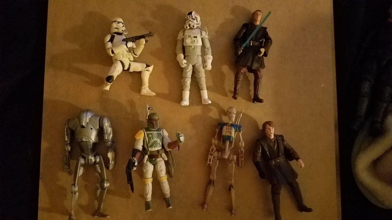 Star wars 3.75 action figure Lot
