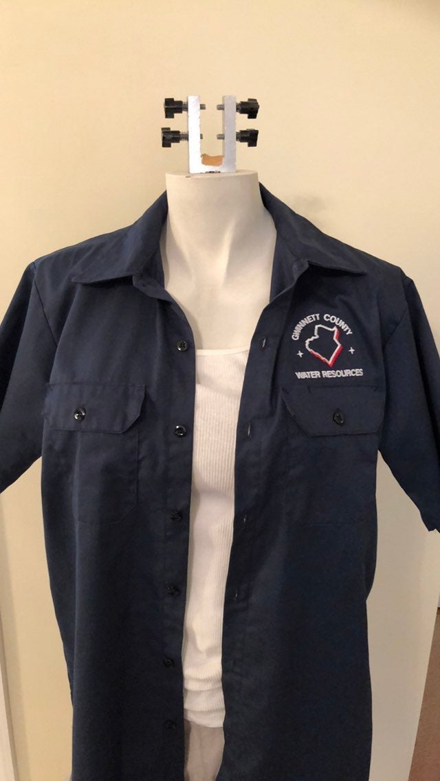 Red Kap Large Men's Work Shirt
