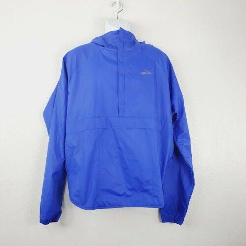 Brooks Mens Pullover Raincoat Jacket