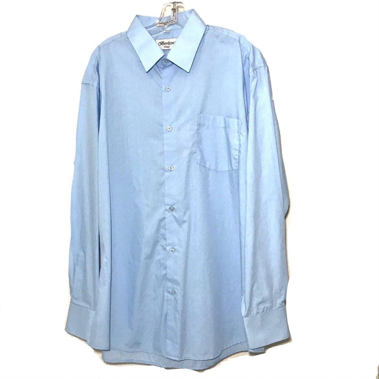 Berlioni Italy Men's Dress Shirt