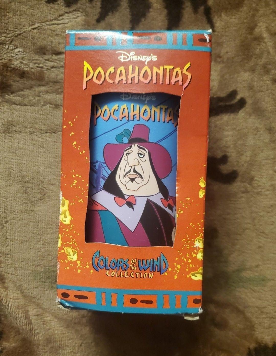 Pocahontas Burger King cup Governor