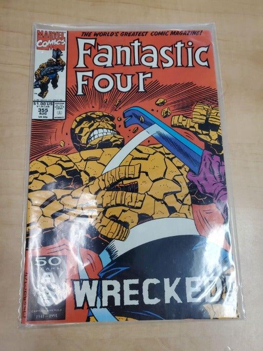MARVEL COMICS FANTASTIC FOUR WRECKED 355