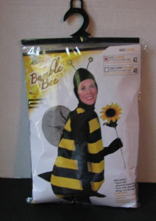 Bumble Bee Costume Adult Size XL