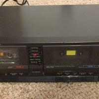 Technics Dual Cassette Tape Deck RS-T25