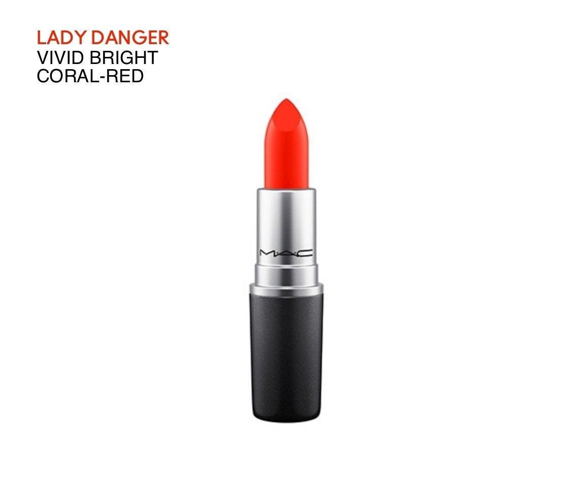 MAC Lipstick in shade lady danger