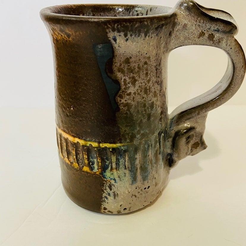Murphy Abstract Mid Century Pottery Mug